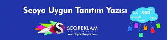 Seo'ya Uygun Tanıtım Yazısı