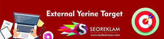 External Yerine Target