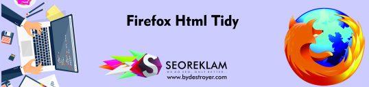Firefox Html Tidy