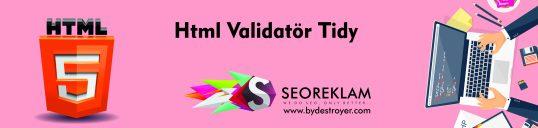 Html Validator Tidy