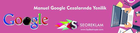 Manuel Google Cezalarında Yenilik
