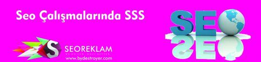 SEO Çalışmalarında SSS