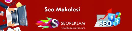 Seo Makalesi