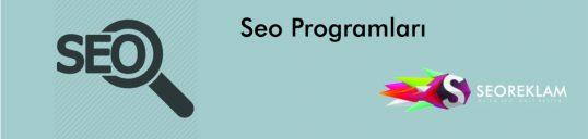 Seo Programları